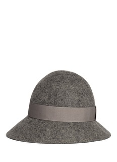 STELLA MCCARTNEY Wool felt cloche hat