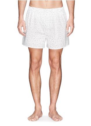 首图 - 点击放大 - SUNSPEL - 纯棉印花图案内裤