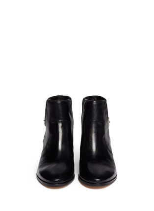 Figure View - Click To Enlarge - Michael Kors - 'Salem' pony hair leather boots