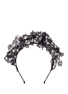 YUNOTME BY GLORIA YU'Loxy' floral lace headband