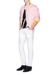 Haider AckermannStripe cotton-cashmere sweater