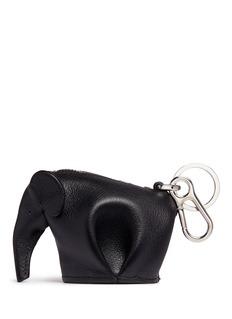 Loewe Leather elephant charm coin purse