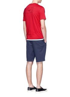 Armani CollezioniEagle logo print T-shirt