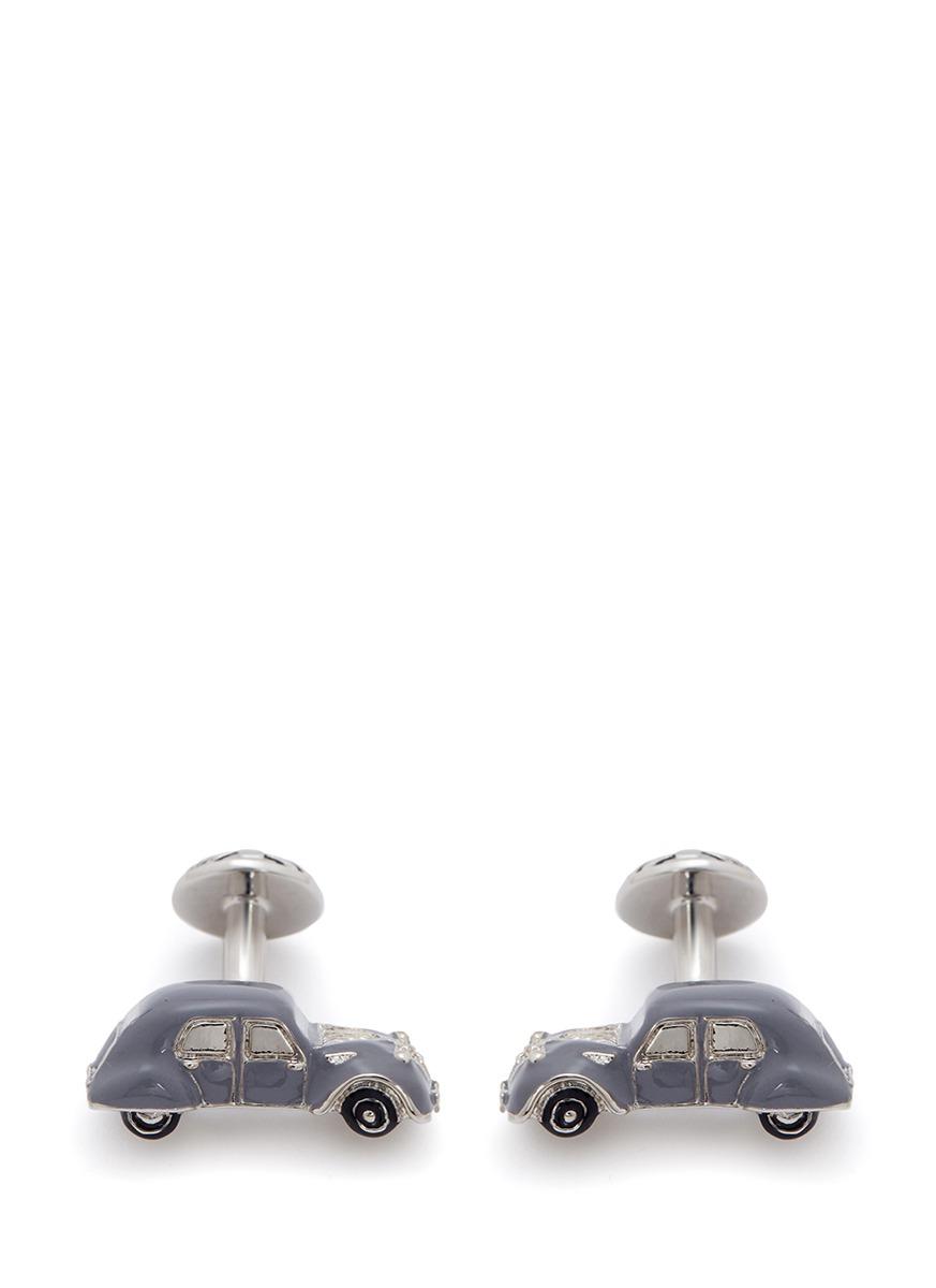 babette wasserman male vintage car cufflinks