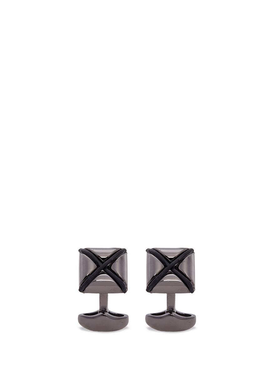 babette wasserman male origami star cufflinks