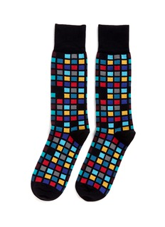 Paul Smith 'Multi Tile' socks