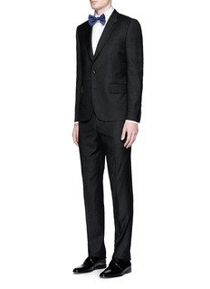 Paul Smith 'Soho' floral embroidered tuxedo suit