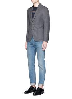 Paul Smith'Soho' wool hopsack soft blazer
