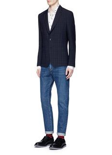 Paul SmithDinosaur fil coupé twill shirt