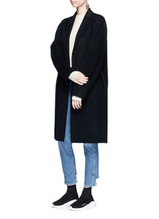 Acne Studios 'Avalon' double faced cashmere-wool melton coat