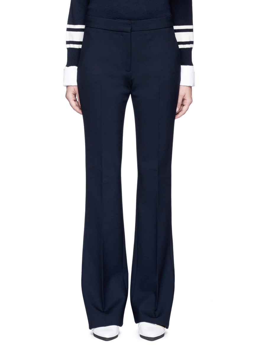 Victoria wool flared pants by VICTORIA, VICTORIA BECKHAM