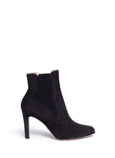 Paul Andrew 'Kamilla 85' wingtip gore suede ankle boots