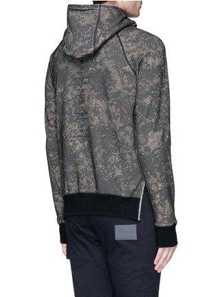 Back View - Click To Enlarge - Den Im By Siki Im - 'VAMPYROS' camouflage print hoodie