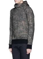 'VAMPYROS' camouflage print hoodie