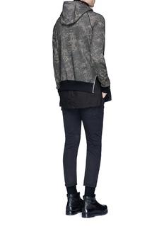 Den Im By Siki Im'VAMPYROS' camouflage print hoodie