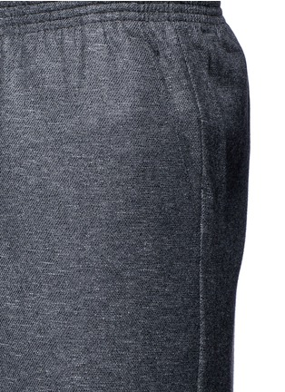 Detail View - Click To Enlarge - COVERT - Virgin wool blend jogging pants