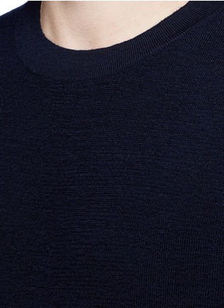 Detail View - Click To Enlarge - COVERT - Button side virgin wool sweater