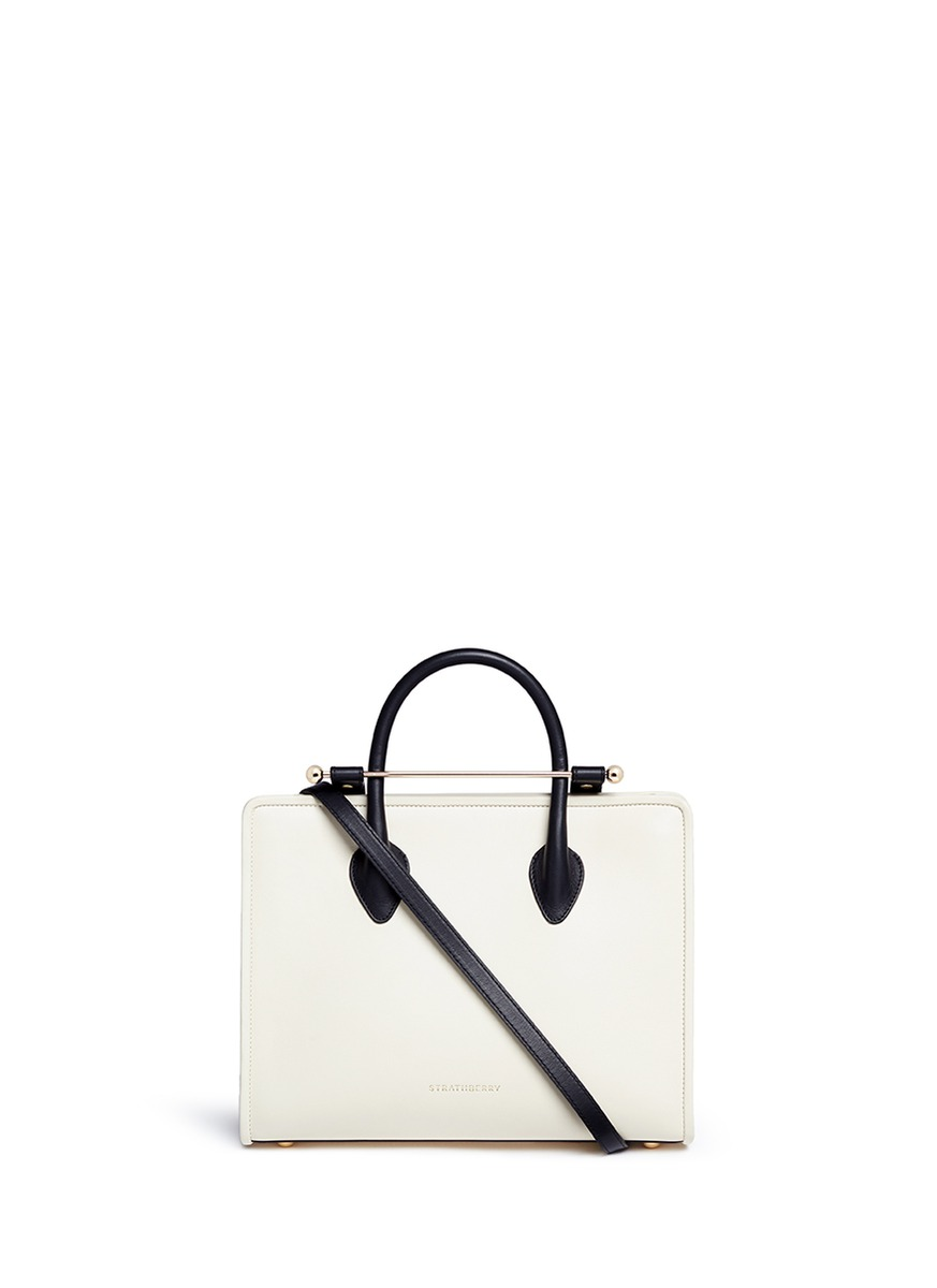 The Strathberry Midi leather tote by Strathberry