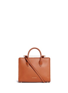Strathberry 'The Strathberry Midi' calfskin leather tote