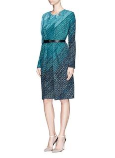 ST. JOHNDégradé novelty knit dress