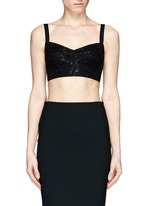 Lace underwired bralet
