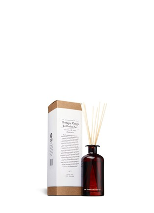 Main View - Click To Enlarge - The Aromatherapy Company - Lavender & Wild Chamomile diffusion set