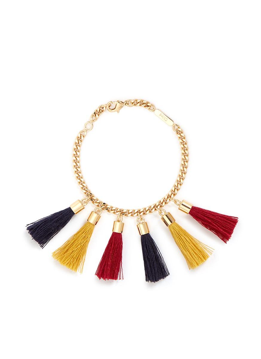 Lynn tassel chain bracelet by Chloé