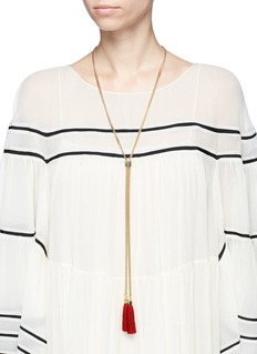 Chloé 'Lynn' tassel drop long necklace