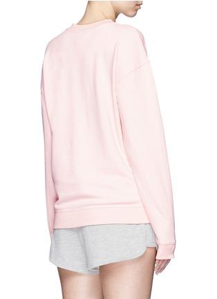 Ivy Park-Logo print peached cotton sweatshirt