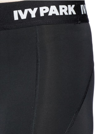 Ivy Park-''The I' logo waist low rise leggings