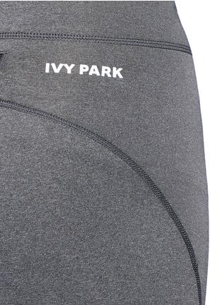 Ivy Park-''The V' mid rise marled leggings