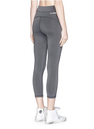 Ivy Park - ''The Y' high rise marled 3/4 leggings