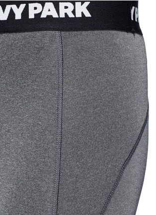 Ivy Park-''The I' logo waist low rise 3/4 leggings