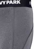 ''The I' logo waist low rise 3/4 leggings
