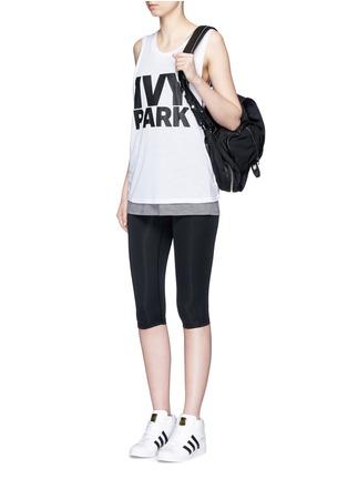 Ivy Park-Logo print tank top