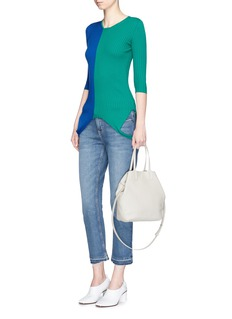Creatures Of Comfort 'Julia Tiny New York' leather tote