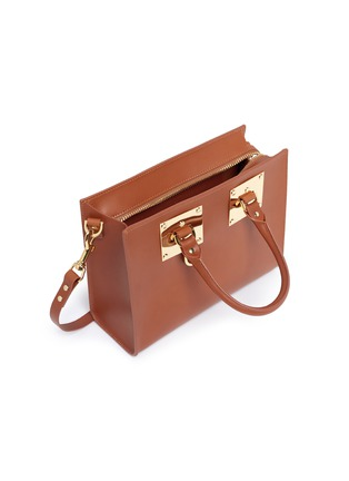 - Sophie Hulme - 'Albion' medium leather box tote