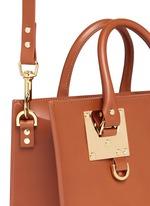 'Albion' medium leather box tote