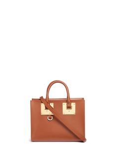 Sophie Hulme'Albion' medium leather box tote