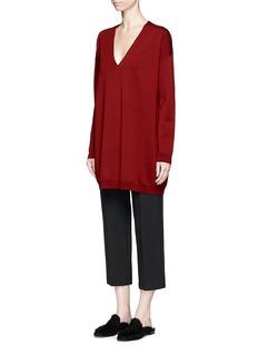 The Row'Maru' oversized V-neck sweater