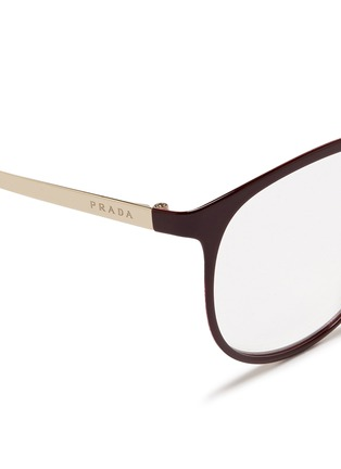 Prada Glasses Frames Vision Express : Prada - Coated Metal Round Optical Glasses Women Lane ...