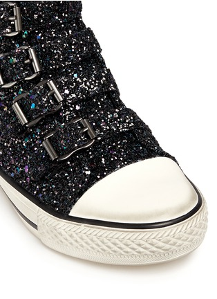 Detail View - Click To Enlarge - Ash Kids - 'Fanta Bis' glitter kids sneakers