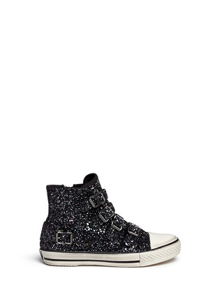 Main View - Click To Enlarge - Ash Kids - 'Fanta Bis' glitter kids sneakers