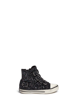 Main View - Click To Enlarge - Ash Kids - 'Fanta Bis' glitter toddler sneakers