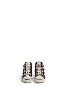 Ash 'Fanta' metallic leather kids sneakers