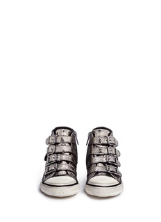 Ash 'Fanta' metallic leather toddler sneakers