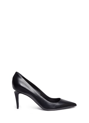 Main View - Click To Enlarge - Alexander Wang  - 'Trista' cutout heel leather pumps