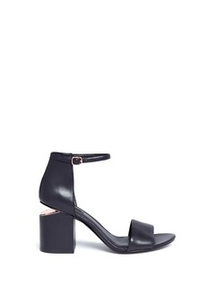 Alexander Wang  'Abby' cutout heel leather sandals