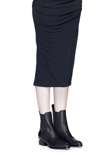 Alexander Wang 'Anouck' cutout heel leather Chelsea boots