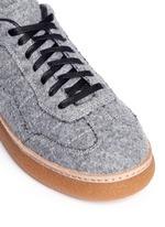'Eden Low' felt platform sneakers